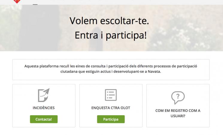 Plataforma de participació ciutadana CIVICITI
