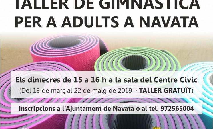 Taller gratuït de gimnàstica per a adults